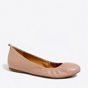 "J. Crew ""Anya"" leather ballet flats BNIB"